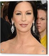 Catherine Zeta-jones Wearing Van Cleef Acrylic Print by Everett