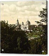 Catholic Church In Kiev - Ukraine - Ca 1900 Acrylic Print
