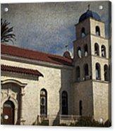 Catholic Church Old Town San Diego Acrylic Print