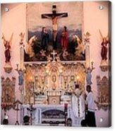 Catholic Mass Acrylic Print by Myrna Migala