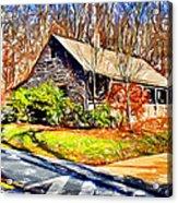 Catoctin Visitor Center Acrylic Print