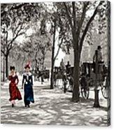 Catwalk In New York 1901 Acrylic Print