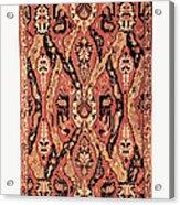 Caucasus: Carpet, C1680 Acrylic Print