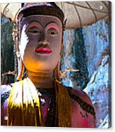 Cave Buddha Acrylic Print