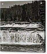 Cave Falls Acrylic Print