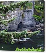 Cave Of The Bay Acrylic Print