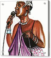 Cecile Kayirebwa Acrylic Print
