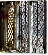 Cecilenhof Palace Window Acrylic Print