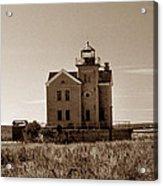 Cedar Island Lighthouse Acrylic Print