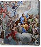 Ceiling Fresco - Karls Church Acrylic Print