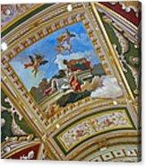 Ceiling Inside Venetian Hotel Acrylic Print