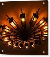 Ceiling Light At One O Clcok Acrylic Print