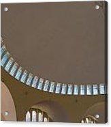 Ceiling With Windows Acrylic Print