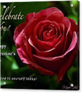 Celebrate You Acrylic Print
