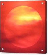 Celestial Fire Acrylic Print