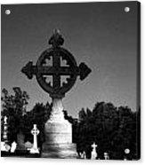 Celtic Cross- Natchez Mississippi Acrylic Print
