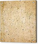 Cement Wall Acrylic Print
