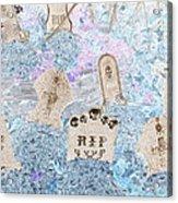 Cemetery Invert Acrylic Print