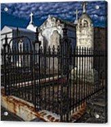 Cemetery Landscape Acrylic Print