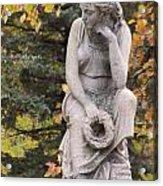 Cemetery Statue 1 Acrylic Print