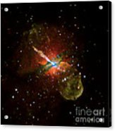 Centaurus A Acrylic Print by Nasa