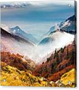 Central Balkan National Park Acrylic Print by Evgeni Dinev