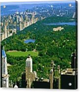 Central Park Color 16 Acrylic Print