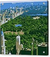 Central Park Color 6 Acrylic Print