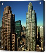 Central Park South From Above Acrylic Print