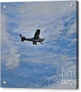 Cessna In Flight Acrylic Print