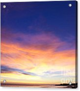 cf 518 A Blue sunset Acrylic Print