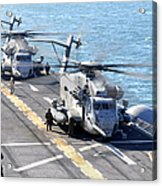 Ch-53e Super Stallion Helicopters Acrylic Print