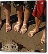 Chaco Sandals Acrylic Print