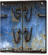 Chains And Hooks Acrylic Print