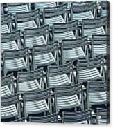 Chairs In Chicago No.4632 Acrylic Print