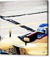 Champ Car Driver Acrylic Print