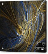 Champagne - Abstract Art Acrylic Print