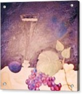 Champagne And Fruit Acrylic Print by Alanna Hug-McAnnally