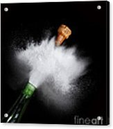 Champagne Cork Popping Acrylic Print