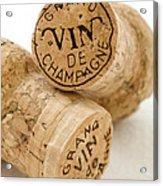 Champagne Corks Acrylic Print by Frank Tschakert