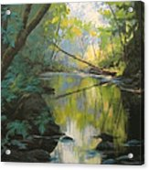 Champagne Creek Acrylic Print