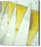Champagne Acrylic Print by David Munns