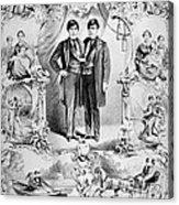 Chang And Eng Bunker, The Original Acrylic Print