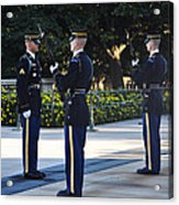 Changing Of The Guards  Acrylic Print