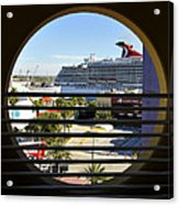 Channelside Tampa Art Deco Acrylic Print