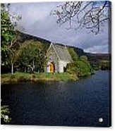 Chapel At Gougane Barra, Co Cork Acrylic Print by The Irish Image Collection