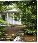 Chapel At Hickory Run State Park Acrylic Print