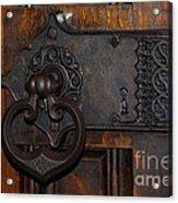 Chapel Door Acrylic Print