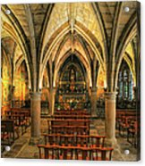 Chapel In Dordogne France Acrylic Print