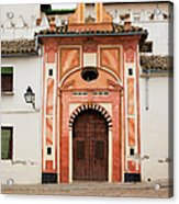 Chapel Of Conception In Cordoba Acrylic Print
